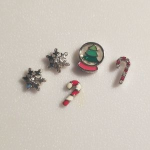 Origami Owl Charms - Winter Set